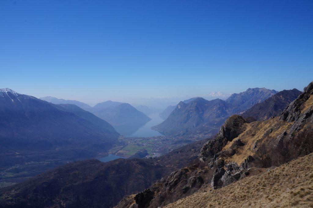 panorama Pizzo Coppa - Rifugio Menaggio