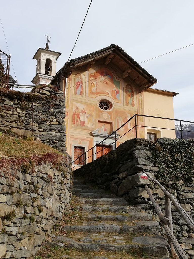 Trekking all'Alpe Seccio