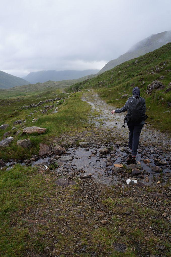 trekking sulla Western Way Ireland