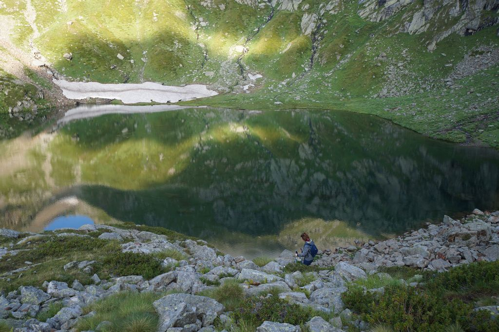 Lago Bianco - Val Vogna (Vallone del Rissuolo)