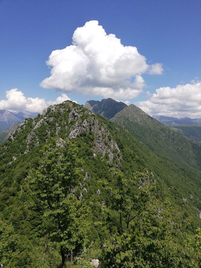 vista dal Monte Ocone (1365m s.l.m.)