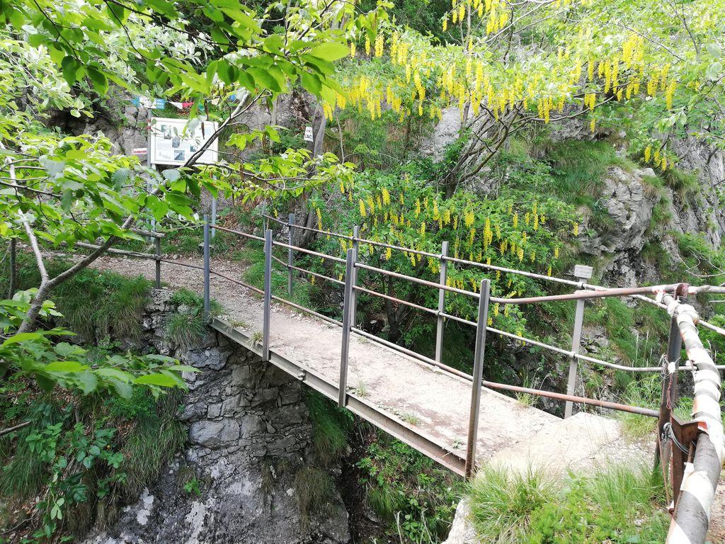 Ponte degli spagnoli, Passo del Pertus (1214 m s.l.m.)